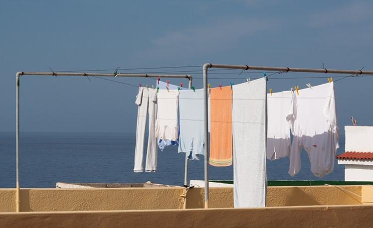 2. dry clothing
